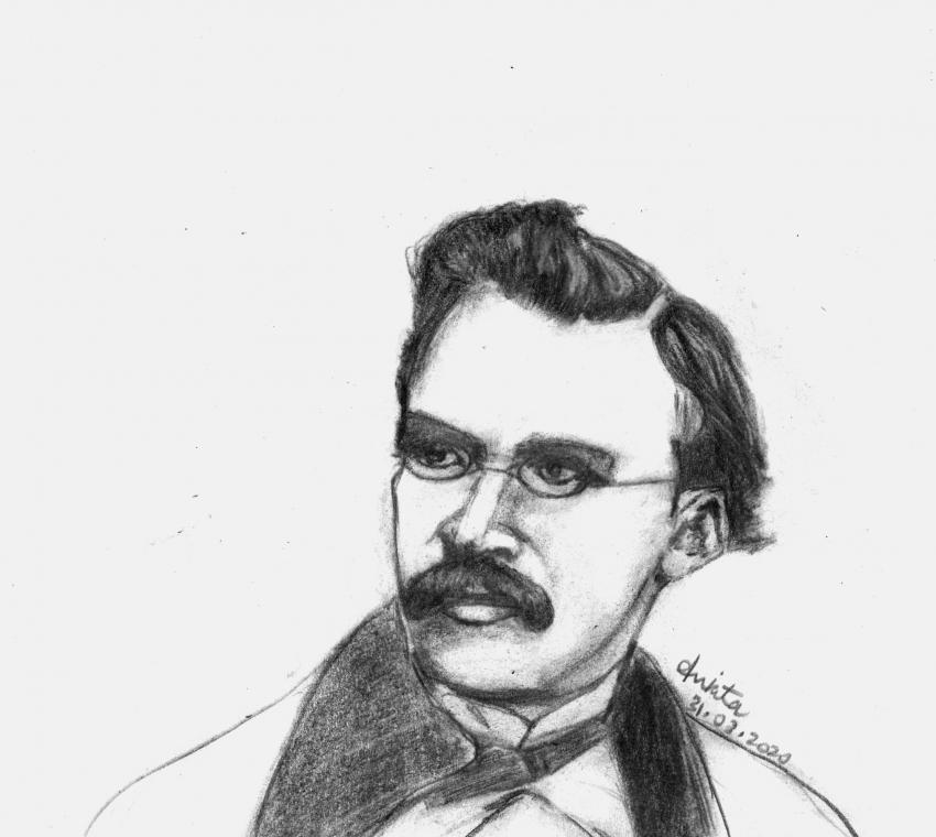 Friedrich Nietzsche par Ankita